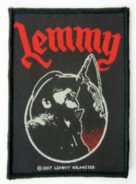 Lemmy - 'Singing' Woven Patch